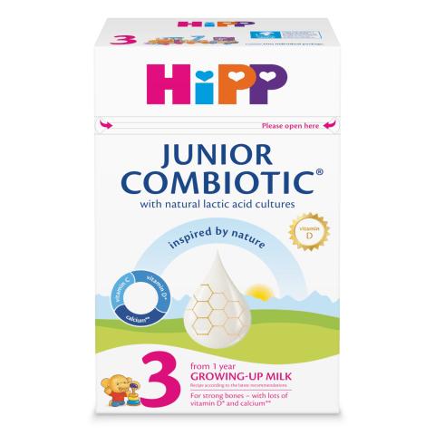 Piena maisīj. Hipp 3 Combiotic 500g