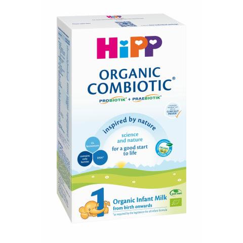 Piena mais. Hipp Combiotic 1 no dz. BIO 300g