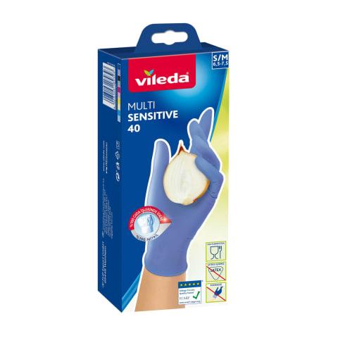 Cimdi Vileda multi sensitive 40 S/M