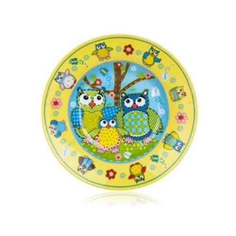 Dziļais šķīvis Banquet Owl 20cm