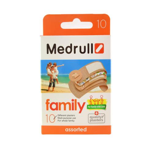 Plaaster Medrull Family Pack N10