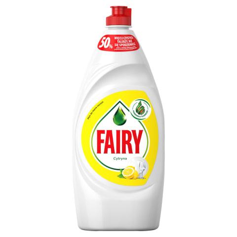 Trauku m/l fairy lemon 900ml