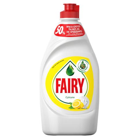Trauku m/l fairy lemon 450ml