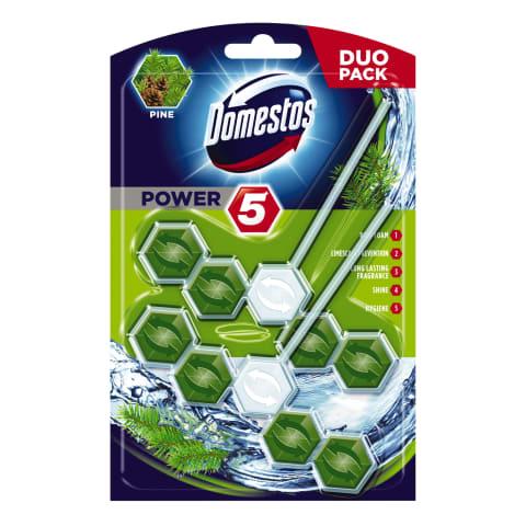 Tual. bloks Domestos Duo Power 5 Pine 2 gab.