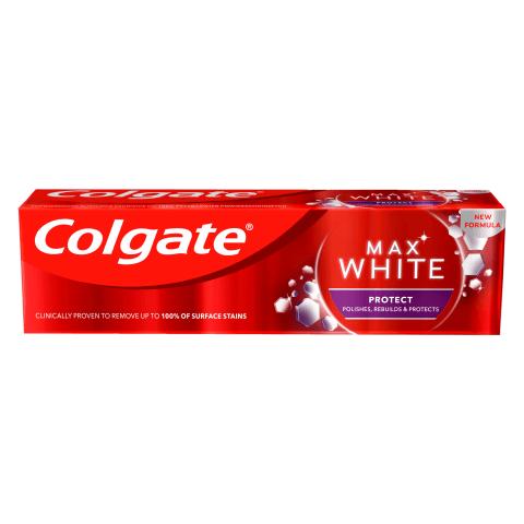Dantų pasta COLGATE MAX WHITE&PROTECT, 75ml