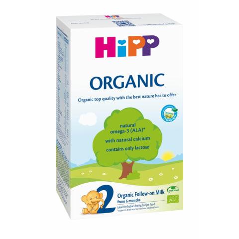 Ekol.tol.mait.pien. mišinys HIPP, 6mėn., 300g
