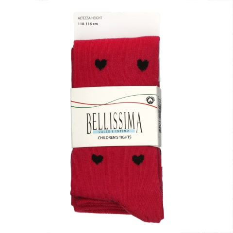 L.kp.Bellissima B402 roosa-must 110/116