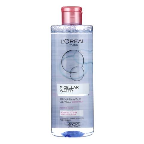 Micel.ūd.loreal water soft j.ādai 400ml