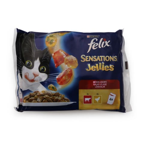 Kassieine Felix sensations liha 4x100g