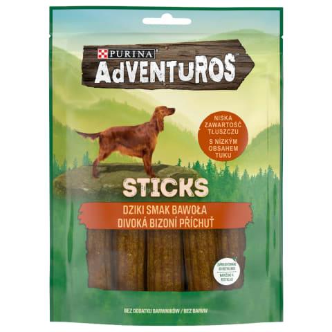 Kārums suņiem Adventuros, nūjiņas, 120g