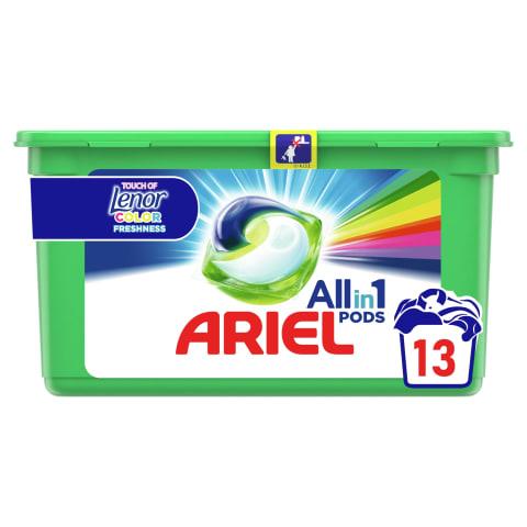 Geelkapslid Ariel Touch of Lenor 13tk