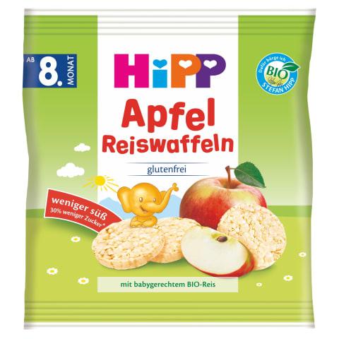 Rīsu krekeri Hipp ābolu no 8mēneši BIO 30g