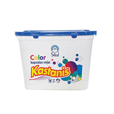 Veļas mazg. kapsulas Kastanis Color 26gab.