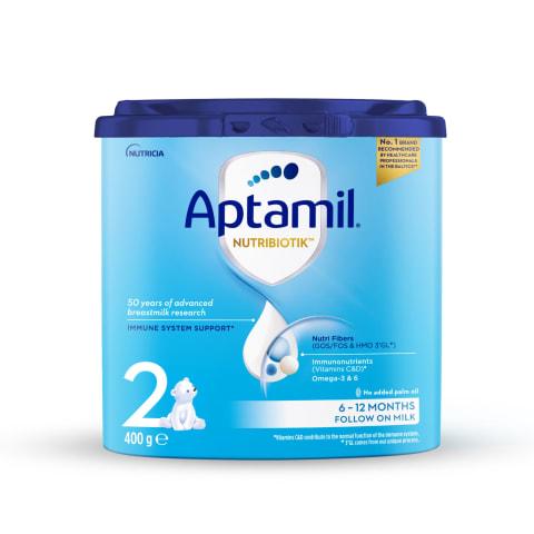 Piena maisījums Aptamil 2 no 6 mēn. 400g
