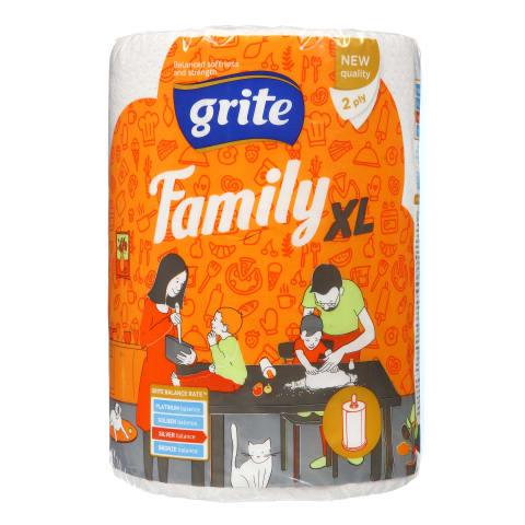 Popier. rankšluost. GRITE FAMILY, 2sl., 1rit.
