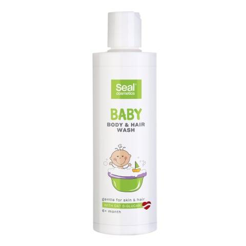 Zīdaiņu matu/ķermeņa šampūns Seal 225ml