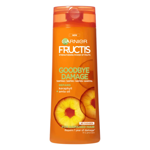 Šampūns Fructis Good Bye Damage 400ml