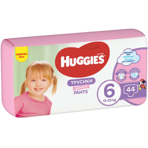 Biksītes Huggies girl mp 6 15-25kg 36gb