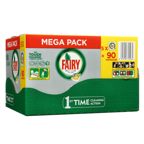 Tr.mazg.tabl. Fairy Platinum Lemon 90gb