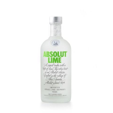 Degvīns Absolut Lime 40% 0,7l