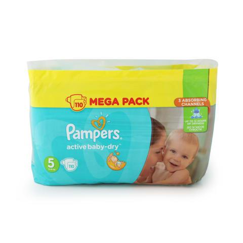 Autiņbiksītes Pampers Active Baby S5 110gab.