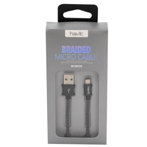 Laadimisjuhe Micro-USB Havit 727