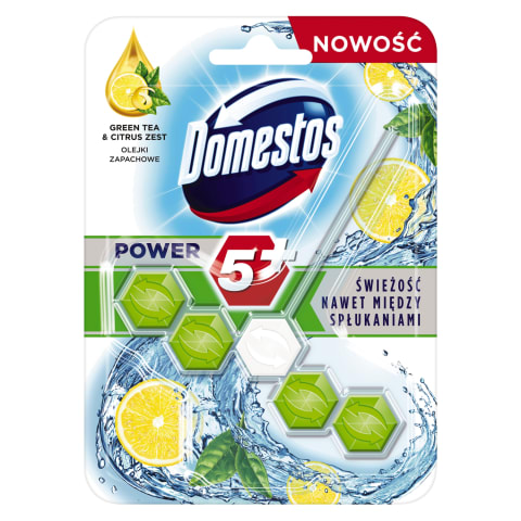 Tual.bl. Domestos Power 5+ GreenTea&Lemon 55g