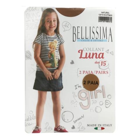 Bēr.zeķ.Belliss Luna 15 natur 12/14 2gab
