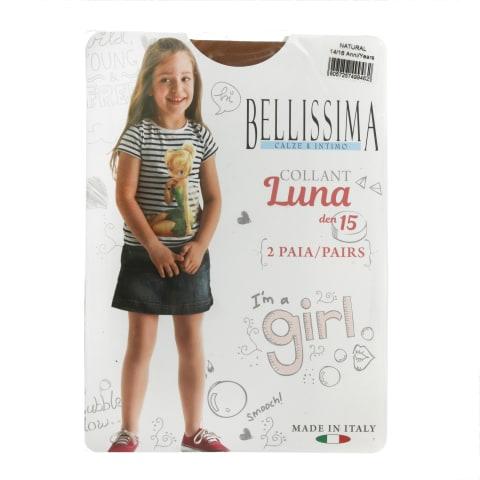Bēr.zeķ.Belliss Luna 15 natur 14/16 2gab