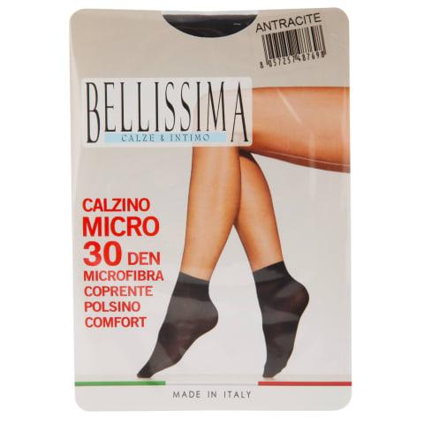 S.zeķes Bellissima Micro 30 antracite