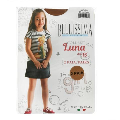 Bēr.zeķu.Bellis Luna 15 natural 6/8 2gab