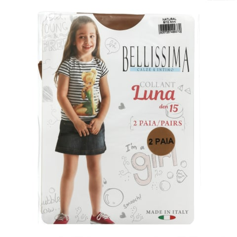 Bēr.zeķu.Belli Luna 15 natural 8/10 2gab