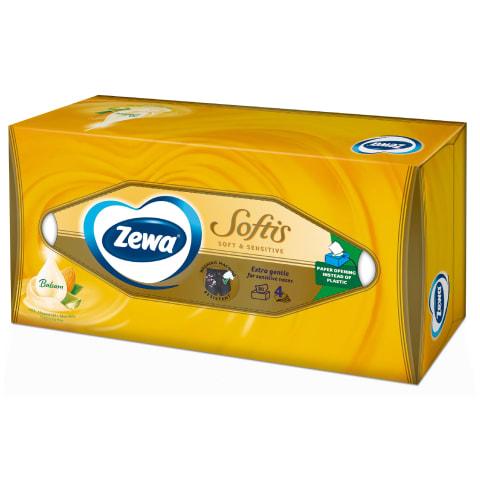 Taskurätikud Zewa Soft&Sensitive 4k 80tk