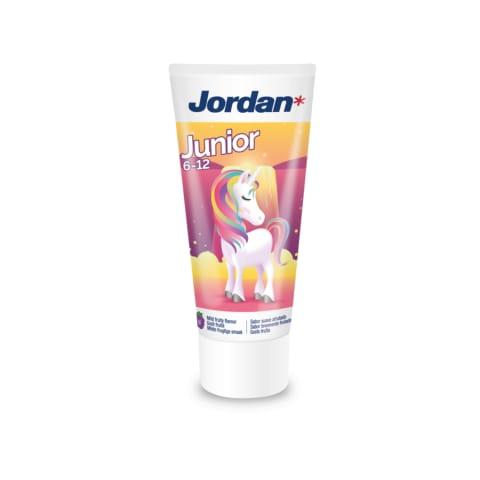 Bērnu zobu pasta Jordan 6-12 gadi 50ml