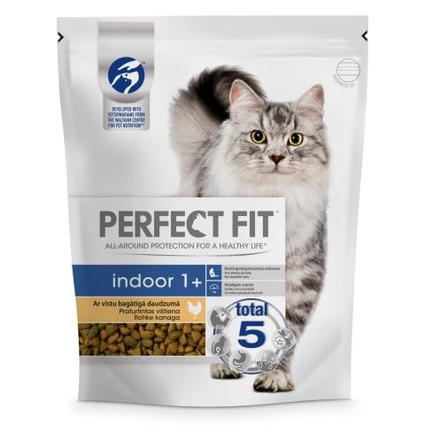 Sausā barība kaķiem Perfect Fit Indoor 750g