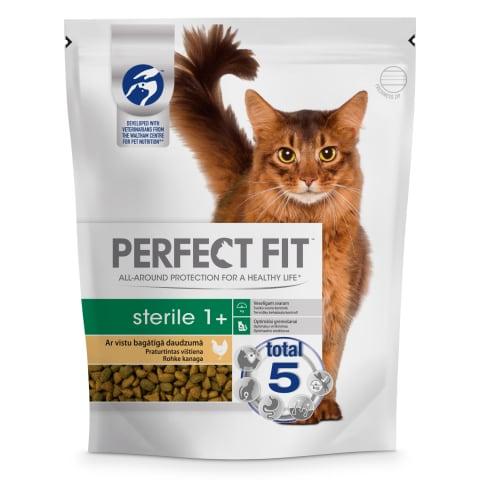 Sausā barība kaķiem Perfect Fit Sterile 750g