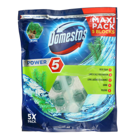 Tualetes bloks Domestos Power5 Pine 5gb