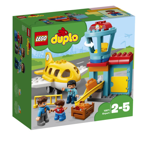Konst. Lidosta LEGO DUPLO