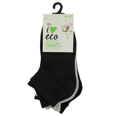 Bērnu zeķes I Love Eco 3pāri 25/27