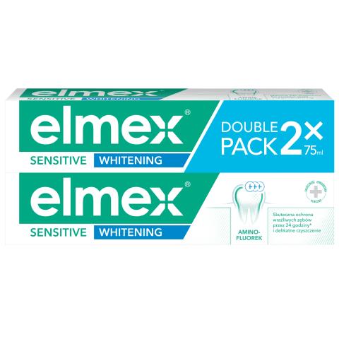 Zobu pasta Elmex Sensitive Whitening 2 x 75ml
