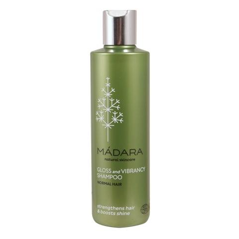 Šampūns Madara spīdumam un košumam 250ml