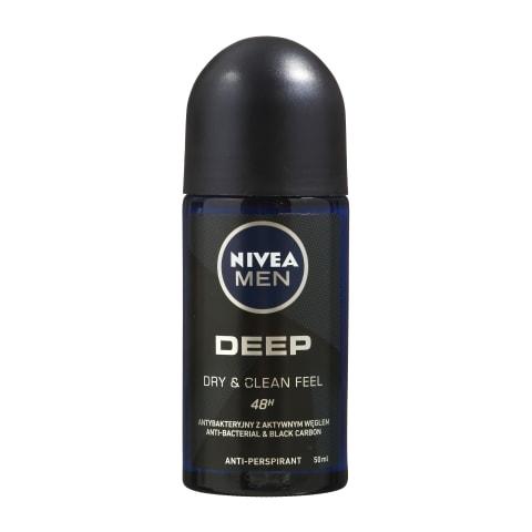 Dezodorants Nivea Deep vīriešiem rullv. 50ml