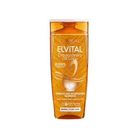 Pl. šampūnas ELVITAL EXTRAORD.COCO, 250ml