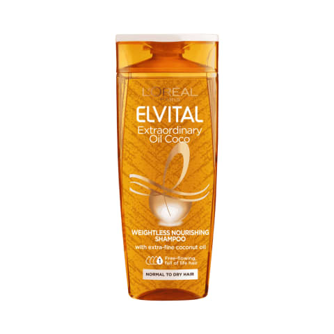 Šamp. Elvital Extraordinary Coconut Oil 250ml
