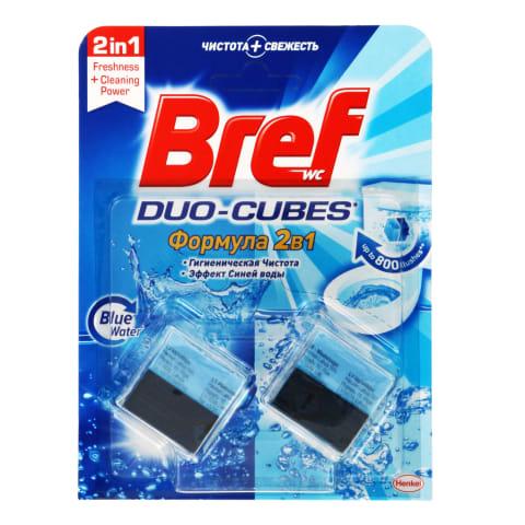 Tual. valom. kubeliai BREF DUO-CUBES, 2x50g