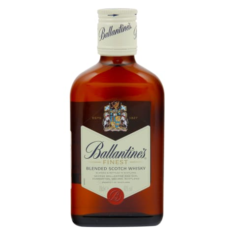 Viskijs Ballantines 40% 0,2l