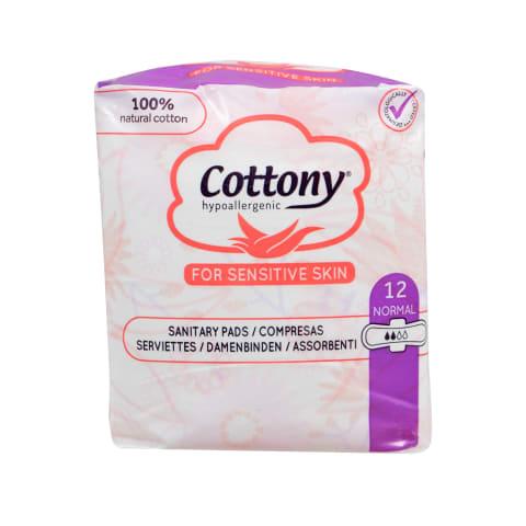 Higieniniai paketai COTTONY NORMAL, 12vnt.
