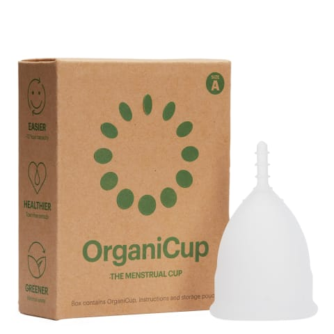 Menstruaalanum OrganiCup suurus A