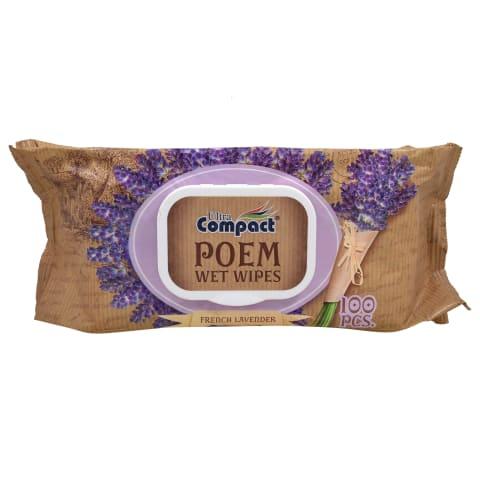 Mitrās salvetes Ultra Compact Lavender 100gb