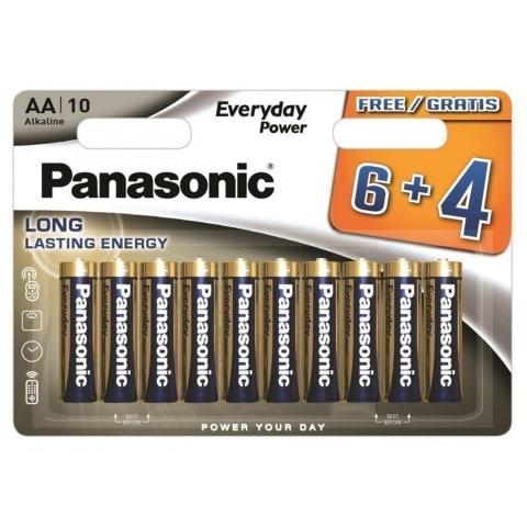 PANASONIC BATERIJOS AA LR6EPS/10B (6+4)